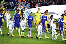 Maribor against Chelsea on 21 October 2014