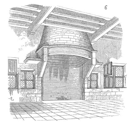 Dictionnaire raisonn de l architecture fran aise du xie - Cheminee circulaire ...