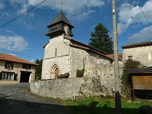 Chéronnac - The church in Chéronnac