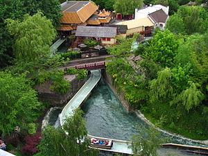Dragon Falls - Image: Chessington World of Adventures 097