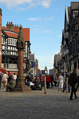 Grade II listed buildings in Chester (central) - Image: Chester Landmarks (1414475330)