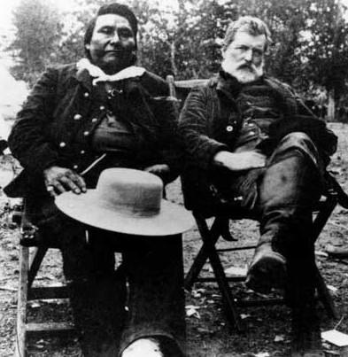 Chief Joseph and Col. John Gibbon