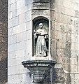 Chiesa degli Eremitani (Padua) - Statua di San Nicola di Tolentino.jpg