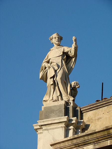 File:Chiesa di San Silvestro - San Domenico statue.jpg