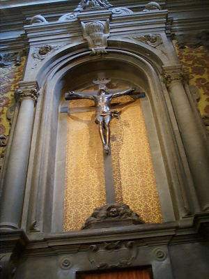 Giovanni Francesco Susini - Susini crucifix in San Gaetano, Florence