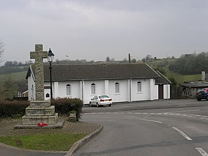 Chilcompton - Image: Chilcompton St Aldhelm's Church geograph.org.uk 137562