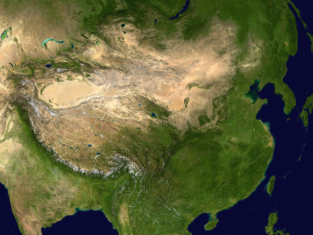 China By NASA (NASA Worldwind) [Public domain], via Wikimedia Commons