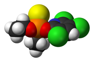 Chlorpyrifos - Image: Chlorpyrifos 3D vd W
