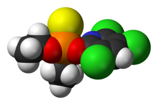 Chlorpyrifos chemical compound