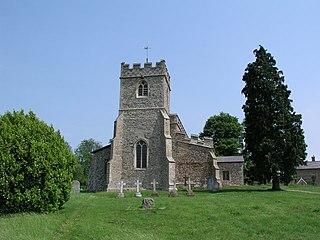 Chrishall Human settlement in England