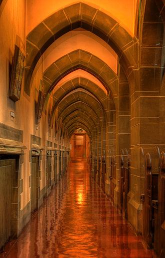Christ Church Cathedral (Victoria, British Columbia) - Side aisle of Christ Church Cathedral, Victoria B.C