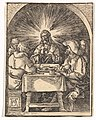 Christ in Emmaus, from The Small Passion (copy) MET DP820395.jpg
