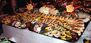 300px Christmas buffet How to Eat Better at Buffets