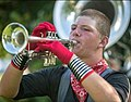 Christopher Farmer, Trumpet, marching the 2018 season.jpg