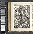 Christus verschijnt als tuinman aan Maria Magdalena (Noli me tangere) De kleine Passie (serietitel), BI-1894-3729-52.jpg