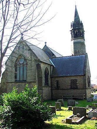 Sherburn, County Durham - Image: Church of St Mary The Virgin, Sherburn geograph.org.uk 359836