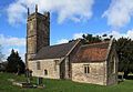 Church of St Nicholas and St Mary, Stowey from south straightened.jpg