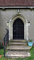 Church of St Thomas, Upshire, Essex, England - north door towards west.jpg