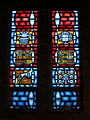 Church of the Holy Family (Grand Blanc, Michigan) - interior, stained glass, Christmas, Circumcision, Advent, Immaculate Conception.jpg