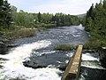 Chute du pont couvert sur la rivière Shawinigan - panoramio.jpg