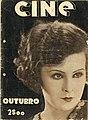 Cine, revista mensal de arte cinematográfica, Nº 5, Outubro de 1928, capa.jpg