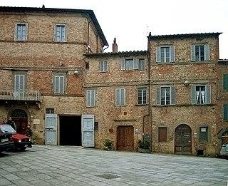 Città della Pieve Comune in Umbria, Italy