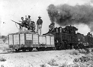 South African Class NG3 4-6-2T - Class NG3 locomotive at work in German South West Africa, c. 1917