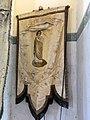 Cleuville (Seine-Mar.) église Saint-Léger, bannière de procession 01.jpg