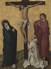 The Crucifixion with a Carthusian Monk