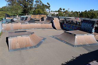 Clairemont, San Diego - Krause Family Skate/Bike Park
