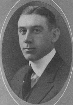 John J. Ryan - Ryan pictured in The Hilltop 1920, Marquette yearbook