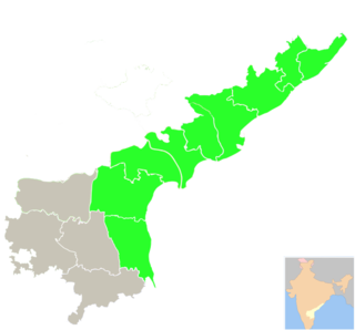 Coastal Andhra Region of Andhra Pradesh in India
