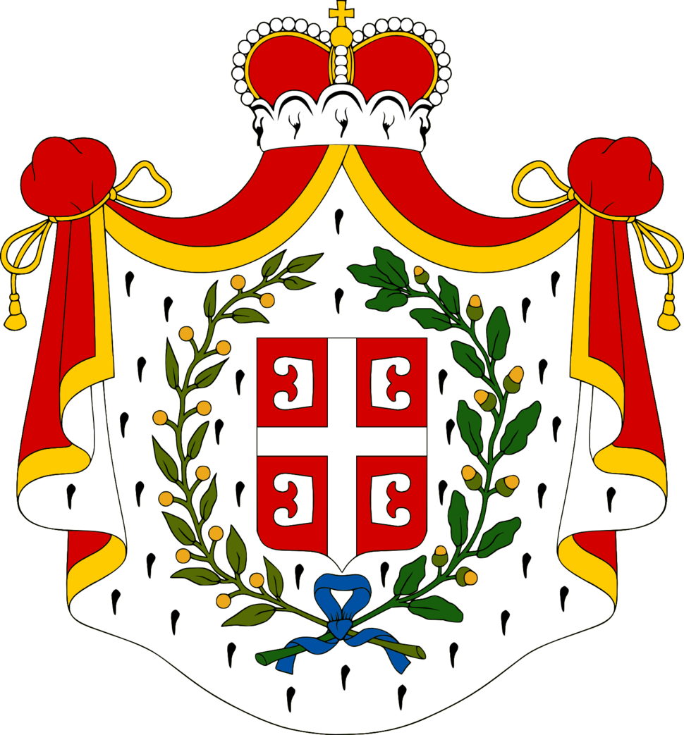 Coat of Arms of the Principality of Serbia