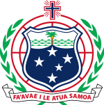 Coat of arms of Samoa.svg