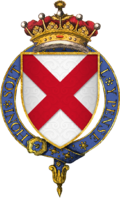 Coat of arms of Sir Gerard FitzGerald, 8th Earl of Kildare, KG.png