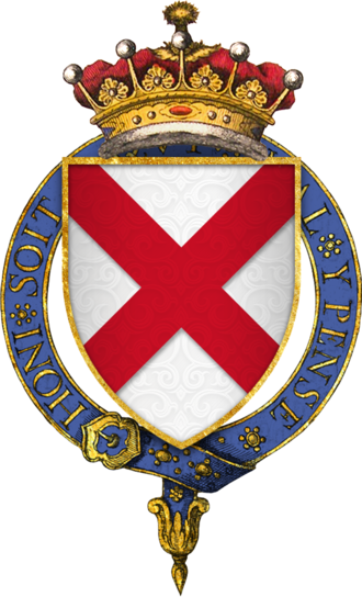 Gerald FitzGerald, 8th Earl of Kildare - Coat of arms of Sir Gerard FitzGerald, 8th Earl of Kildare