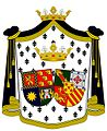 Coat of arms of the Marquesses of Praia and Monforte.jpg