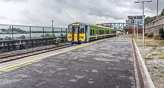 Cork Suburban Rail - Image: Cobh Railway Station County Cork Ireland (7164029679)