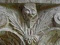 Codalet (66) Abbaye Saint-Michel de Cuxa Cloître Chapiteau Détail 05.JPG
