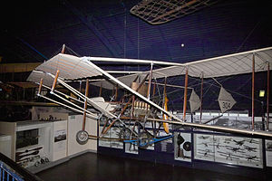 1912 British Military Aeroplane Competition - The second Cody V in the Science Museum, London