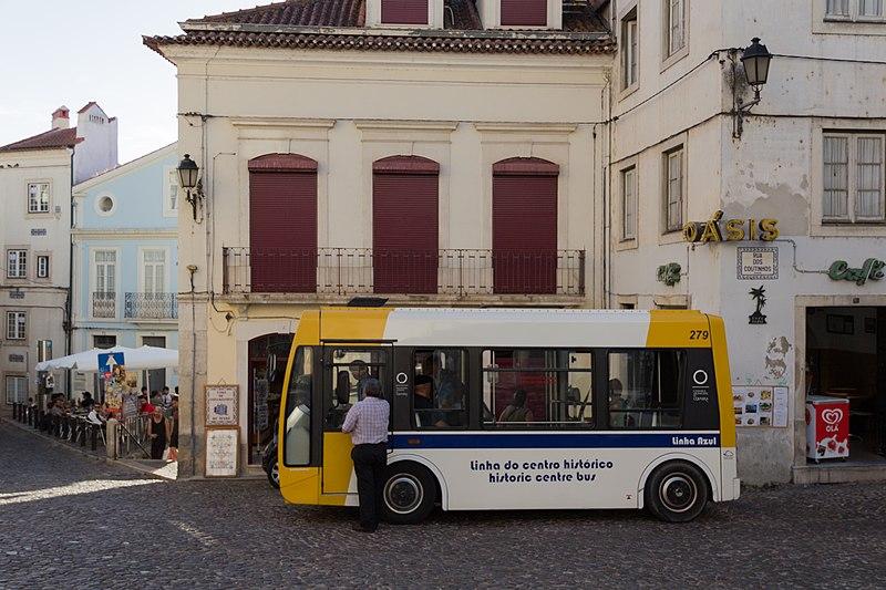 Transporte rápido em Coimbra
