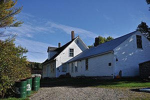 National Register of Historic Places listings in Coös County, New Hampshire - Image: Colebrook NH Benjamin Aldrich Homestead 1