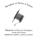Colgate University Conant library bookplate.png