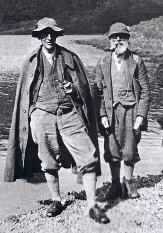 J. Norman Collie - Norman Collie and John MacKenzie as old men