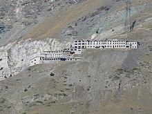 Il villaggio minatori di Colonna