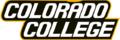 Colorado College athletics text logo.png