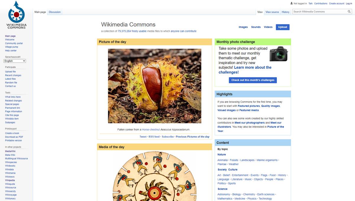 Wikimedia Commons - Wikipedia