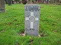 Commonwealth War Grave in Jarrow Cemetery (WW1-14) - geograph.org.uk - 1603543.jpg