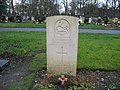 Commonwealth War Grave in Jarrow Cemetery (WW2-49) - geograph.org.uk - 1605461.jpg