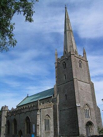 Congresbury - Image: Congresbury Church